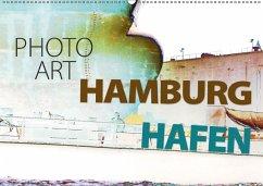 Photo-Art / Hamburg Hafen (Wandkalender 2018 DIN A2 quer)