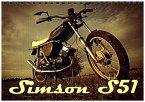 Simson S51 (Tischkalender 2018 DIN A5 quer)