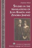 Studies in the Translations of Juan Ramon and Zenobia Jimenez (eBook, ePUB)