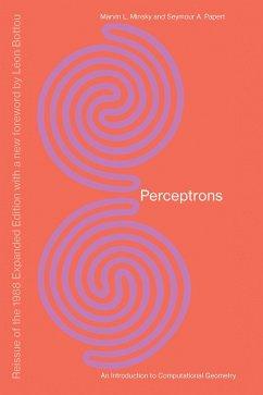 Perceptrons - Minsky, Marvin;Papert, Seymour A.