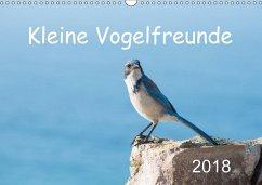Kleine Vogelfreunde (Wandkalender 2018 DIN A3 quer)