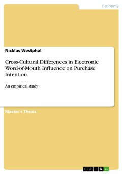Cross-Cultural Differences in Electronic Word-of-Mouth Influence on Purchase Intention (eBook, PDF)