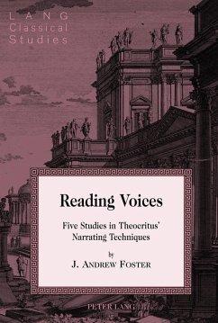 Reading Voices (eBook, ePUB) - Foster, J. Andrew