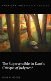 Supersensible in Kant's Critique of Judgment (eBook, ePUB)