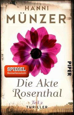 Die Akte Rosenthal 2 / Seelenfischer Tetralogie Bd.3 (eBook, ePUB) - Münzer, Hanni