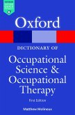 A Dictionary of Occupational Science and Occupational Therapy (eBook, ePUB)