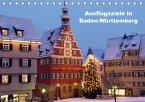 Ausflugsziele in Baden-Württemberg (Tischkalender 2018 DIN A5 quer)