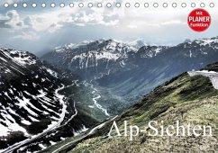 Alp-Sichten (Tischkalender 2018 DIN A5 quer)