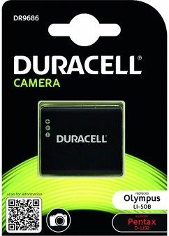 Duracell Li-Ion Akku 770mAh für Olympus LI-50B/Pentax D-LI92