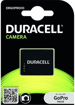 Duracell Li-Ion Akku 1000 mAh für GoPro Hero 3