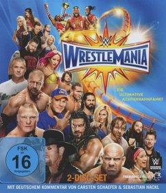 Vorschaubild von Wrestlemania 33 Bluray Box