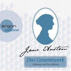 Jane Austen Gesamtausgabe, 13 MP3-CDs - Austen, Jane