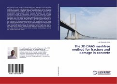 The 3D DAAS meshfree method for fracture and damage in concrete
