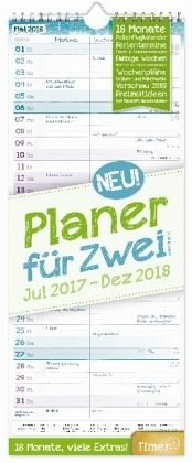 planer f r zwei 18 monate 2017 2018 wandkalender. Black Bedroom Furniture Sets. Home Design Ideas