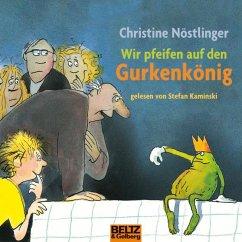Wir pfeifen auf den Gurkenkönig (MP3-Download) - Nöstlinger, Christine