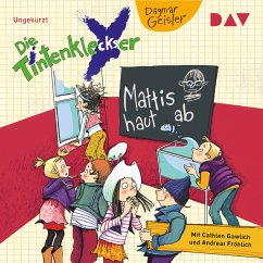 Mattis haut ab / Die Tintenkleckser Bd.3 (MP3-Download) - Geisler, Dagmar