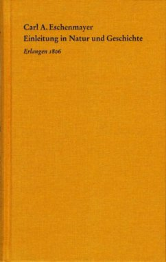 Einleitung in Natur und Geschichte (eBook, PDF) - Eschenmayer, Carl A.