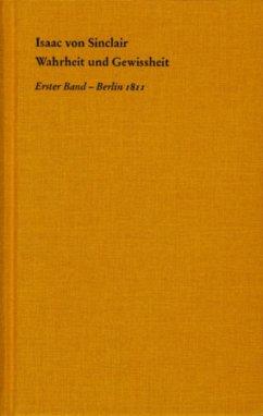 Wahrheit und Gewissheit (eBook, PDF) - Sinclair, Isaac Von