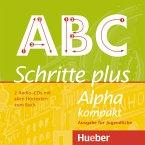 2 Audio-CDs mit allen Hörtexten zum Buch / Schritte plus Alpha kompakt - Ausgabe für Jugendliche