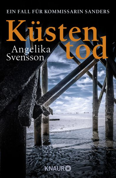 Buch-Reihe Kommissarin Sanders von Angelika Svensson