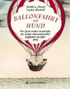 Ballonfahrt mit Hund - Olshan, Matthew