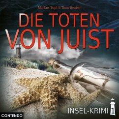 Insel-Krimi - Die Toten von Juist, 1 Audio-CD - Topf, Markus; Reuber, Timo
