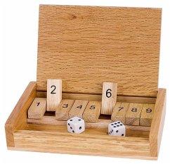 Würfelspiel Shut the box (Kinderspiel)