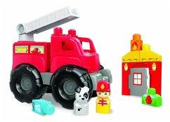 Mega Bloks Rettungseinsatz-Feuerwehrwagen