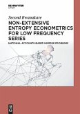 Non-Extensive Entropy Econometrics for Low Frequency Series