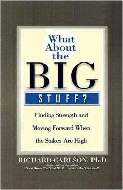 What About the Big Stuff? (eBook, ePUB) - Carlson, Richard