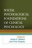 Social Psychological Foundations of Clinical Psychology (eBook, ePUB)