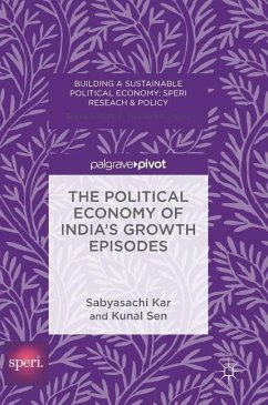 The Political Economy of India's Growth Episodes - Kar, Sabyasachi; Sen, Kunal