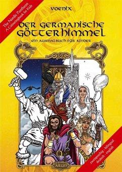Der germanische Götterhimmel - Ein Ausmalbuch für Kinder - Vömel, Thomas
