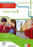Green Line 3. Fit für Tests und Klassenarbeiten. Arbeitsheft mit Lösungsheft und CD-ROM. Baden-Württemberg ab 2016