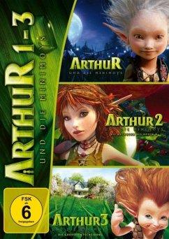 Arthur und die Minimoys 1-3 (3 Discs)