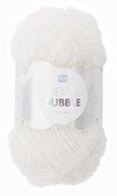 Spülschwammgarn Creative Bubble Weiß