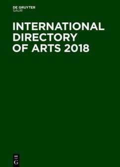 International Directory of Arts 2018