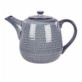 Broste copenhagen Teekanne Nordic Sea, 1,3 l Keramik Graublau