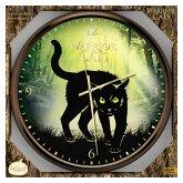 Beltz 82291 - Warrior Cats, Wanduhr mit Katzenlauten