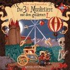 Die 3 1/2 Musketiere mit dem goldenen L, 4 Audio-CDs