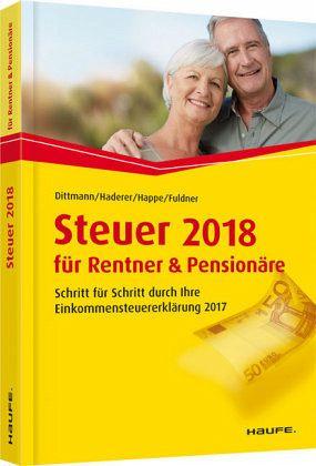 Steuer 2018 für Rentner und Pensionäre