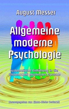 Allgemeine moderne Psychologie (eBook, ePUB)
