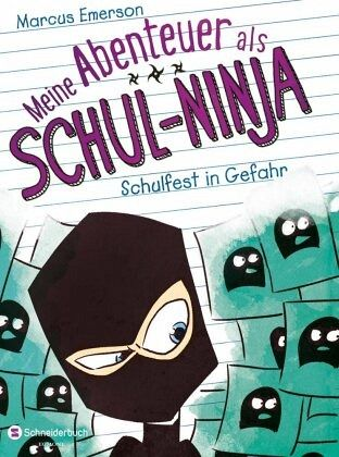 Buch-Reihe Meine Abenteuer als Schul-Ninja