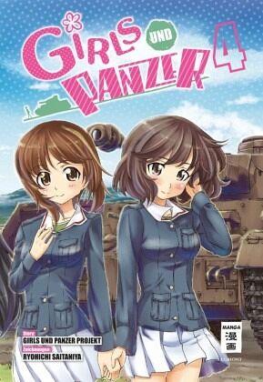 Buch-Reihe Girls und Panzer