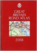 AA Great Britain Road Atlas 2018