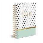 Polka Dots Mint 2018 Diary