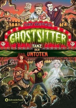 Buch-Reihe Ghostsitter von Tommy Krappweis