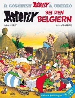 Asterix bei den Belgiern. Einmalige Sonderausgabe - Goscinny, René