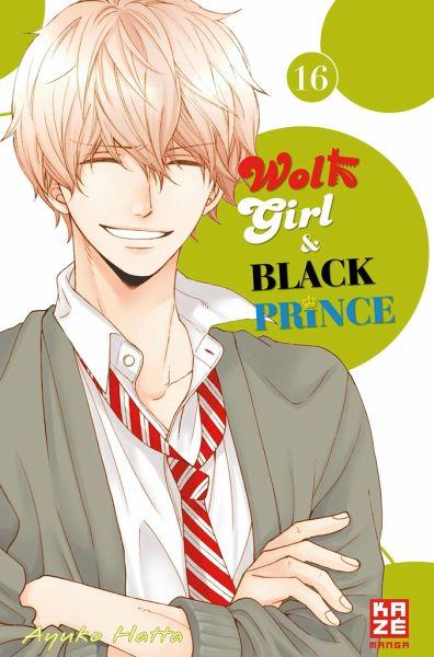 Buch-Reihe Wolf Girl & Black Prince