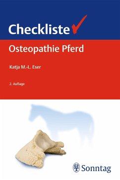 Checkliste Osteopathie Pferd - Eser, Katja M.-L.
